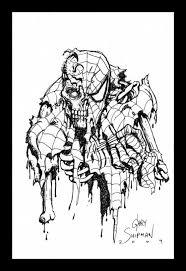 zombie spiderman gary shipman u0027s spider man pieces art