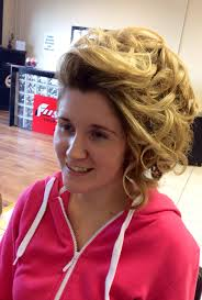 how to curl loose curls on a side ethnic hair a high quiffed upstyle with one side a soft elegant sweep coming
