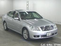 silver nissan car 2004 nissan fuga silver for sale stock no 37190 japanese used