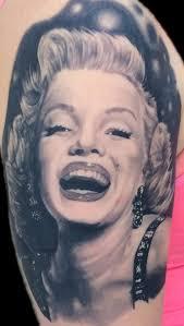 marilyn monroe by justin mariani tattoos