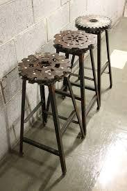 industrial style pub table amazon com ikayaa industrial style bar stool adjustable height