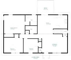 best floor plan one storey floor plan best of simple home plans and designs best