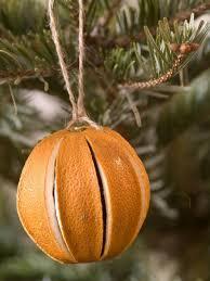 ornaments orange ornaments