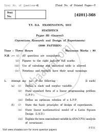 design of experiments question paper statistics general paper 3 design of experiments