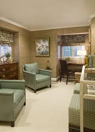 Den Den Design Ideas Den With Grasscloth Wallpaper Den - Wallpaper for family room