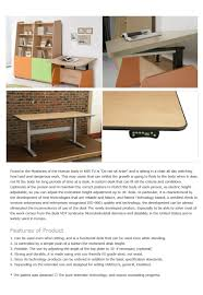 Automatic Height Adjustable Desk by Computer Desk Autocomdesk