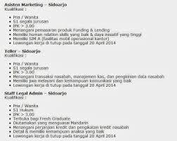 lowongan kerja desember 2014 terbaru lowongan pekerjaan bandung april 2014 show offer