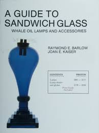 a guide to sandwich glass whale oil lamps and accessories from