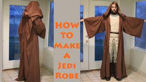 how to make a jedi robe youtube