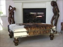 Cheap Ottoman Bench Furniture Fabulous Round Leather Storage Ottoman Ottoman Bench