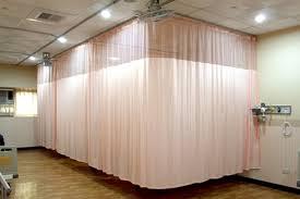 Hospital Cubicle Curtains Inherently Retardant Plain Cubicle Hospital Curtains 1008