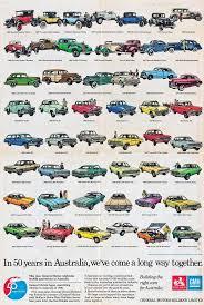 Australian Muscle Cars - 50 years in australia 1976 holden anniversary poster autopia