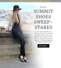 summit shoe sweepstakes