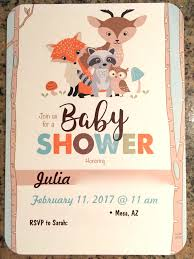 woodland creature baby shower woodland creatures baby shower a letter to food