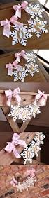 1040 best winter home decor images on pinterest winter onederland snowflake highchair banner in pink and gold one high chair banner pink and gold birthday party decorations