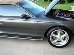 1996 Mustang Gt Interior Millzenator U0027s 1996 Mustang Gt Convertible Youtube
