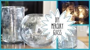 diy faux mercury glass pottery barn inspired