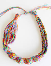 diy necklace making images Diy necklace how to make a necklace with embroidery threads jpg