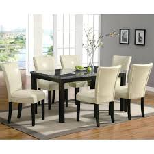 Leather Dining Chairs Canada Beige Leather Dining Chairs Aboutyou Space