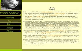 Life Works Novels Photos Summary William Faulkner Born  September     Works Novels Photos Summary William Faulkner Faulkner s most celebrated novels include The Sound and the