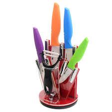 Coloured Kitchen Knives Ceramic Knife Sets In Block Thesecretconsul Com