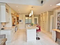 White Kitchen Cabinets Shaker Style Bespoke Kitchen Design Hand Painted In