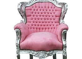 Pink Armchair Chairs Pink White Porters Chair Princess Queen Diva Throne Egg