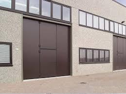 porte per capannoni portoni industriali manuali o automatizzati m b