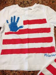 4th of july american flag t shirts