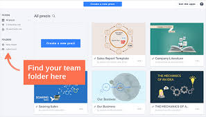 creating a template for your team prezi classic support