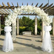 wedding arches supplies discount cherry blossom wedding arch decoration 2017 cherry