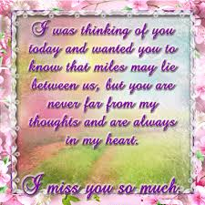 never far from my thoughts free thinking of you ecards greeting