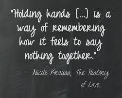 nicole krauss the history of love say what book quotes