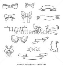 bow doodle stock images royalty free images u0026 vectors shutterstock