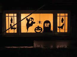 jessica mae diy halloween window silhouettes