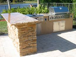 Outside Kitchen Ideas Custom Outdoor Kitchens And Built In Bbq Grill Islands U2014 Gas