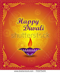 happy diwali light festival india greeting stock vector 723275329