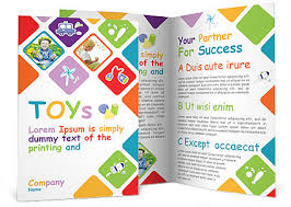 play school brochure templates toys brochure template design id 0000000935 smiletemplates