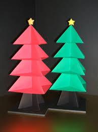 ornaments origami tree ornaments blank d