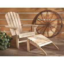 Unfinished Wood Rocking Chair Castlecreek Adirondack Chair 250 Lb Capacity 657799 Patio
