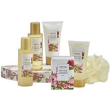 bath gift set fingerhut prevari vintage garden 6 pc bath gift set