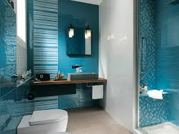 Small Bathroom Decorating Ideas Orangearts Blue White Shade With Bathrooms Cool Remodeling