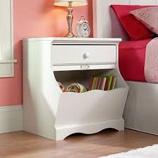 girls white bedside table white bedroom nightstands bedroom ideas