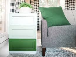 how to paint an ombre design on a dresser how tos diy