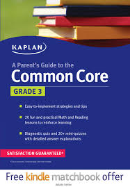parent u0027s guide to the common core 3rd grade kaplan test prep