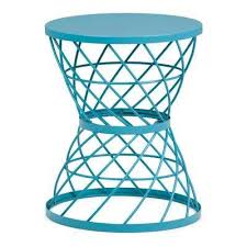 teal accent table blue accent tables living room furniture the home depot