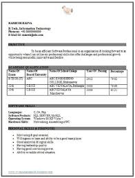 Mba Fresher Resume Pdf Resume Objectives U2013 46 Free Sample Example Format