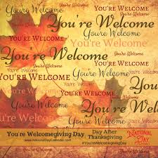 you re welcomegiving day day after thanksgiving national day