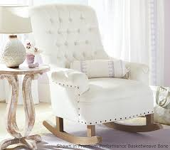 Pottery Barn Kid Chair Incredible Rocking Chair With Ottoman Upholstered Chairs Glider