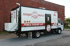 Blood Bath Shower Gel Shower To The People A Mobile Unit That Provides Free Showers For